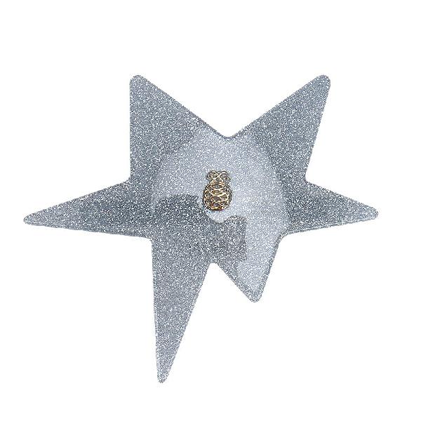 Ia Bon Star Clip – Blue Glitter