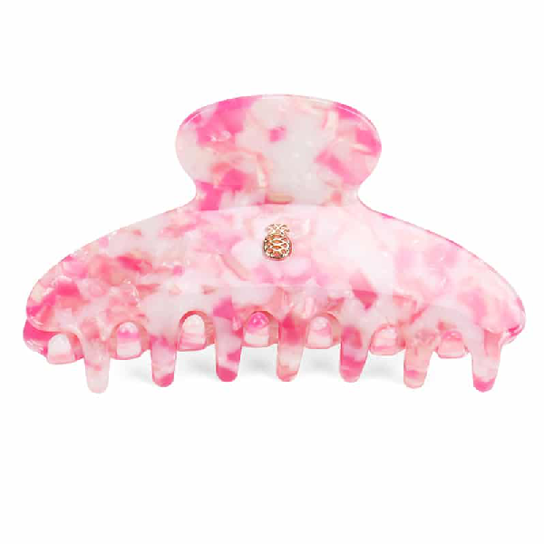Ia Bon Large Hair Claw – Candy Crush In Pink