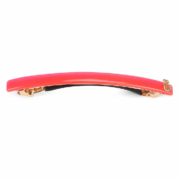 Ia Bon Simple Hair Clip – Spicy Coral In Red