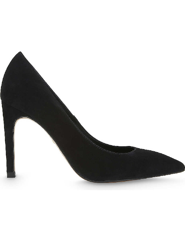 Whistles Cornel Suede Courts In Black