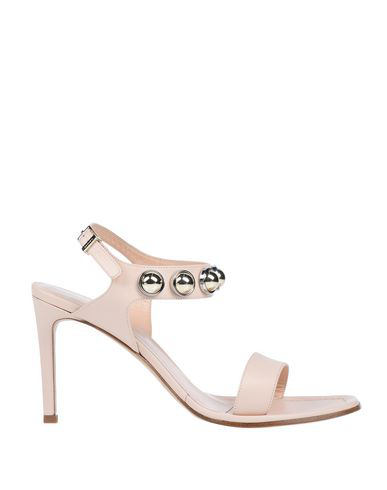 Carven Sandals In Pale Pink