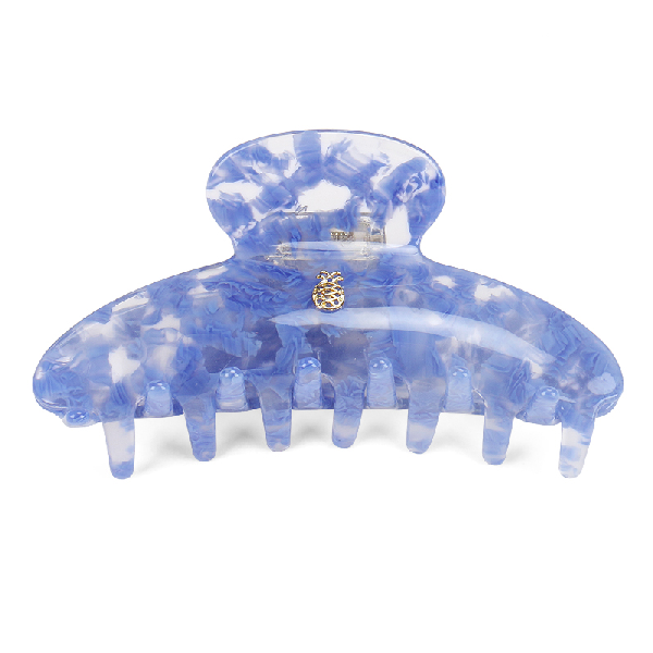 Ia Bon Large Hair Claw – Blue Cloud