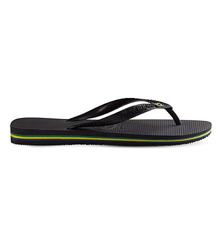 Havaianas Brazil Flip-Flops In Black