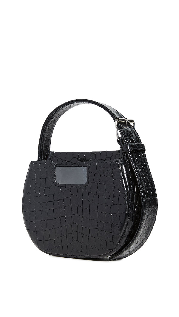 Alfeya Valrina Joe Joe Bag In Black Croc