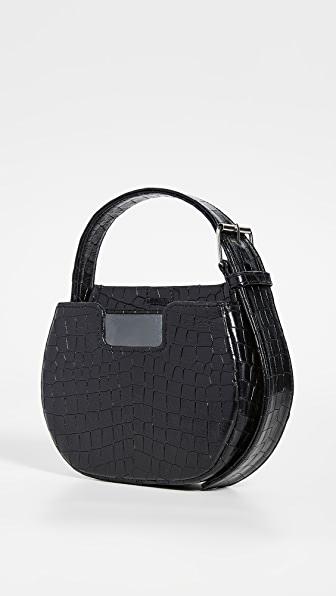 Alfeya Valrina Joe Joe Bag In Black Croc