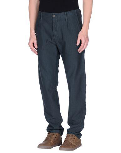 Novemb3r Casual Pants In Slate Blue