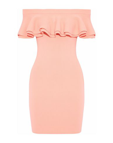Line Short Dress In Light Pink