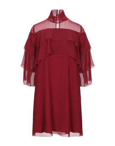 Hopper Short Dress In Maroon