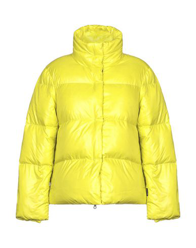 Duvetica Down Jacket In Acid Green
