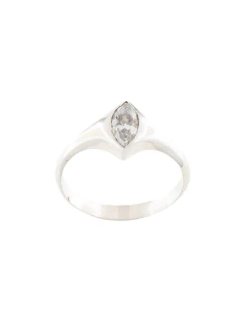 Niomo Sinai Stone-embellished Ring In Silver