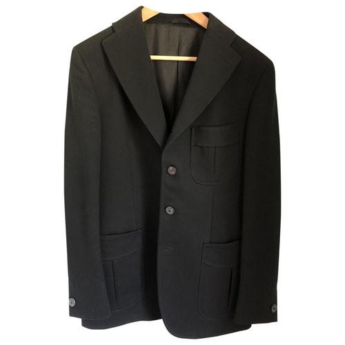 Tonello Black Cotton Jacket