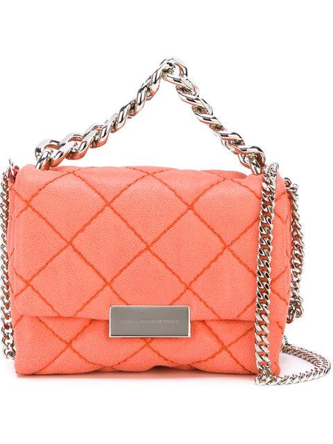 Stella Mccartney 'becks' Shoulder Bag In Salmon Pink