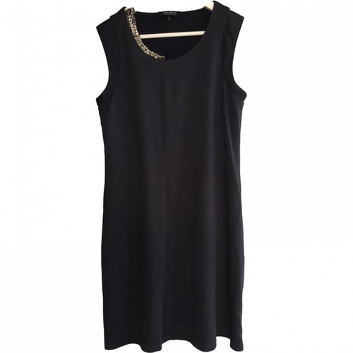 Max Mara Navy Cotton Dress