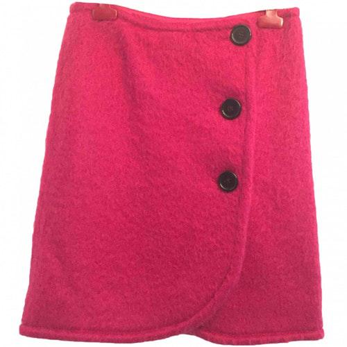 Max Mara Pink Wool Skirt