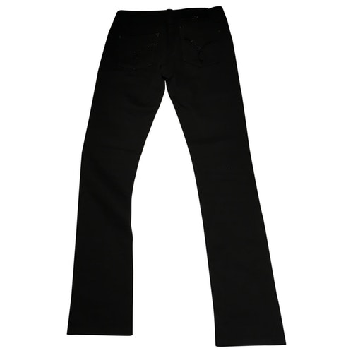 Versace Black Cotton - Elasthane Jeans