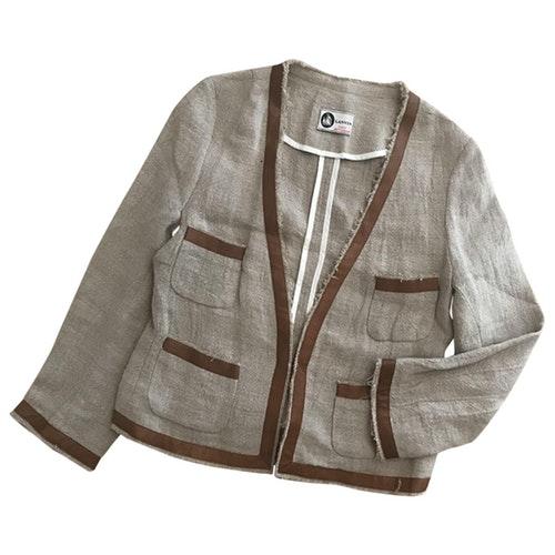 Lanvin Beige Linen Jacket