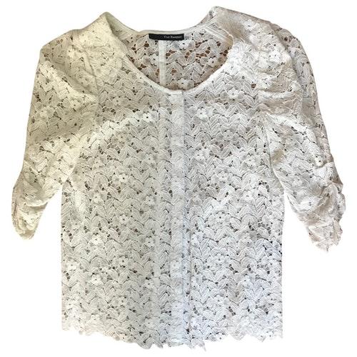 The Kooples Ecru Cotton  Top