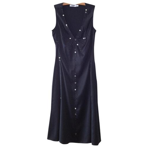 Moschino Black Silk Dress