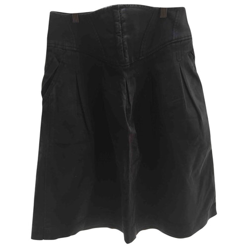 Isabel Marant Black Cotton Skirt