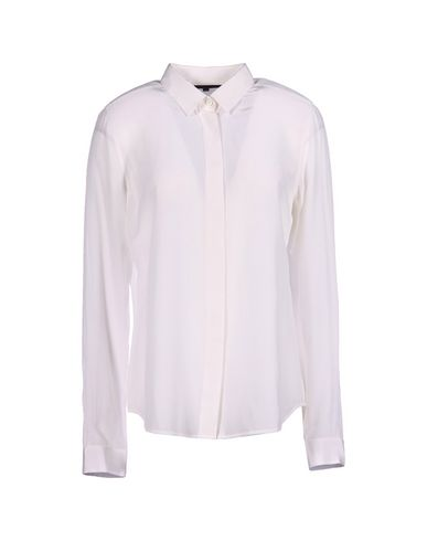 Barbara Bui Silk Shirts & Blouses In Ivory