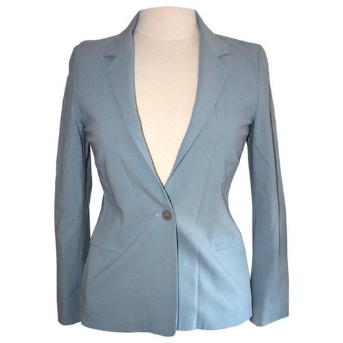 Jil Sander Blue Wool Jacket