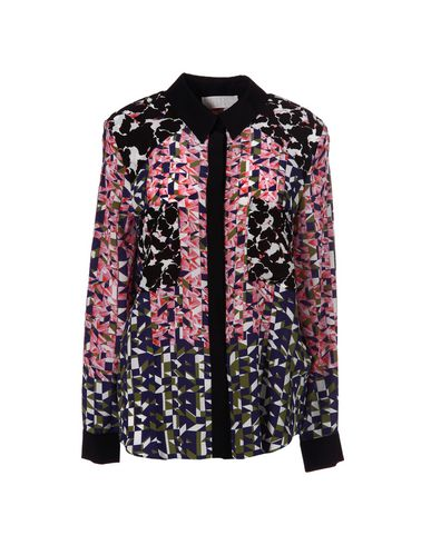 Peter Pilotto Patterned Shirts & Blouses In Pink