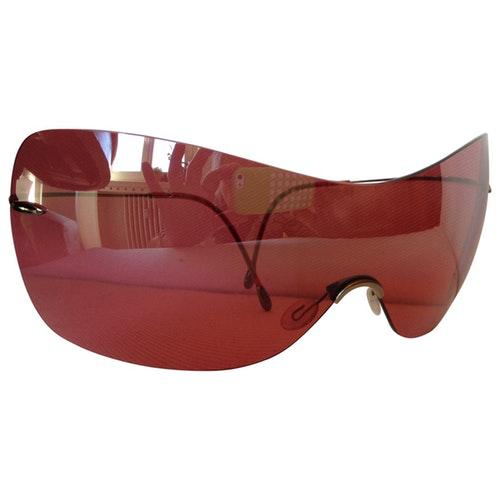 Silhouette Burgundy Sunglasses