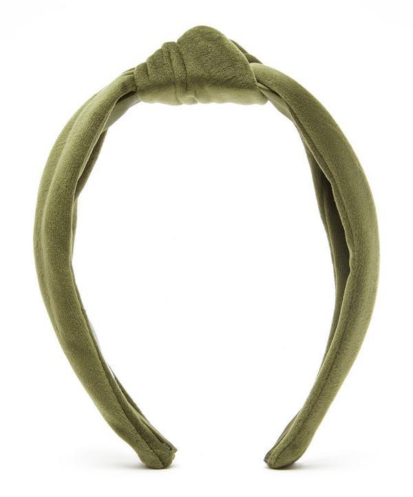 The Uniform Velvet Knot Headband