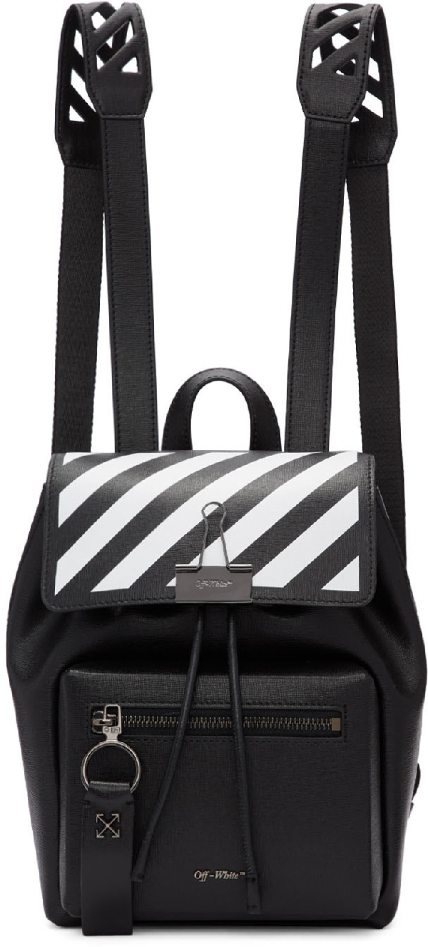 Off-white Backpack Diag Black White