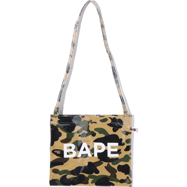 Bape 1st Camo Shoulder Bag Yellow
