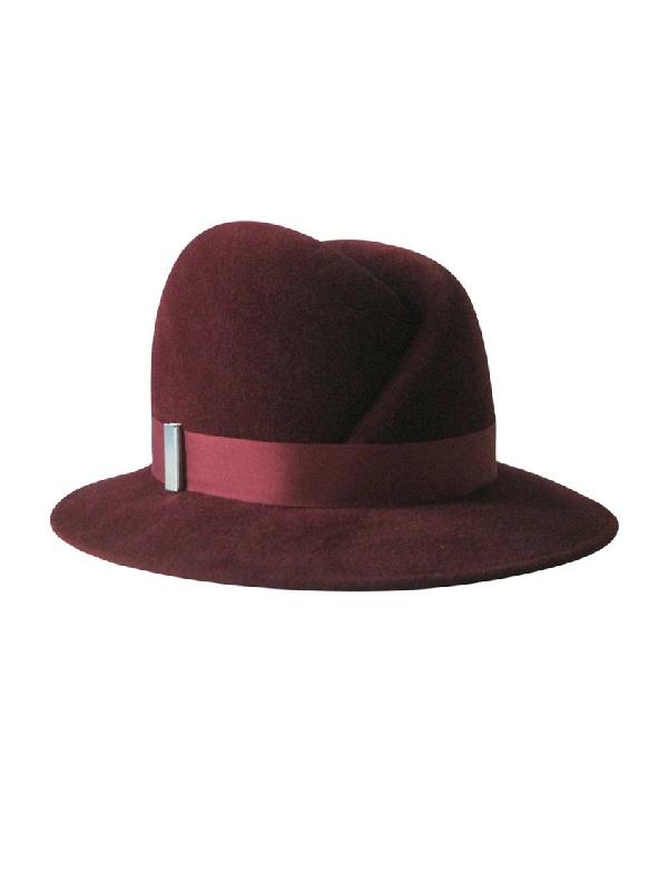 Gigi Burris Millinery Red Women's Nell Hat Bordeaux