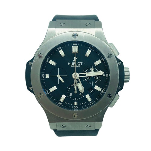 Hublot Big Bang  Silver Steel Watch