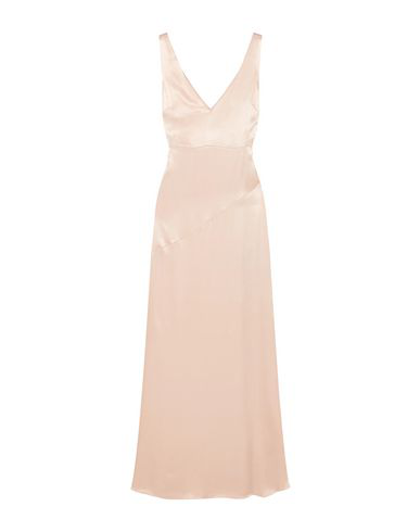 Les HÉroÏnes By Vanessa Cocchiaro Long Dress In Light Pink