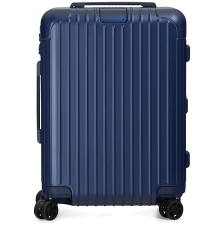 Rimowa Essential Cabin S Luggage In Matte Blue