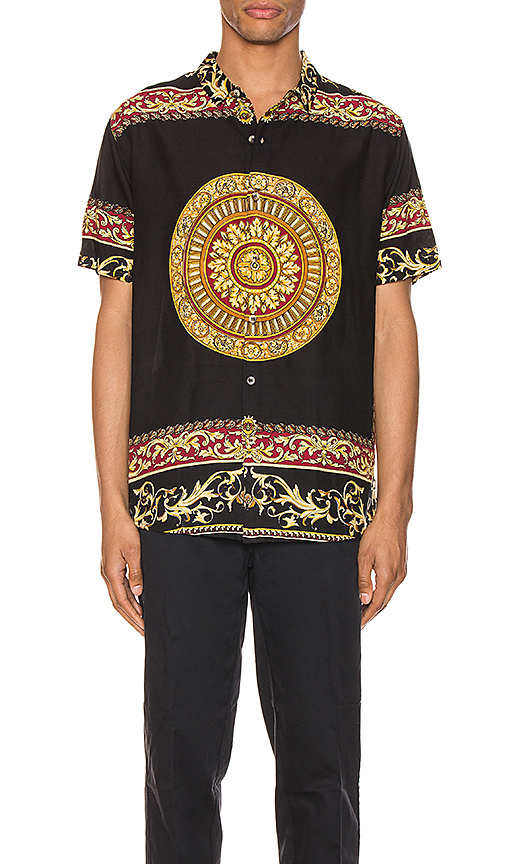 Rolla's Bon Shirt In Black & Gold