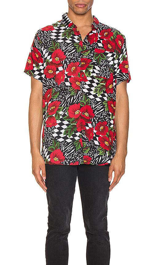 Rolla's Bon Shirt In Wild Rose & Rosecheck