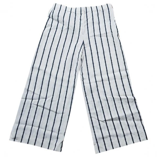 Christian Wijnants Ecru Wool Trousers