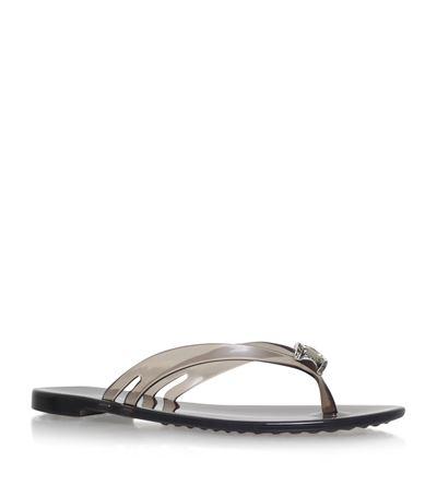 Casadei Flip Flops & Clog Sandals In Black