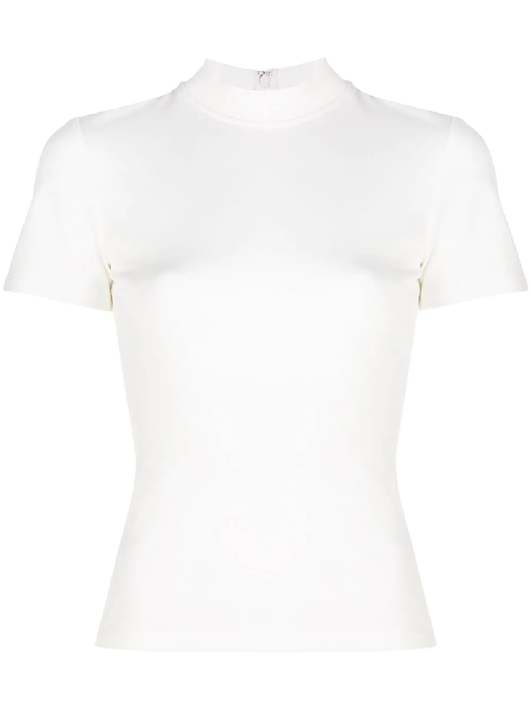 Alexis Bissette Fitted Top In White