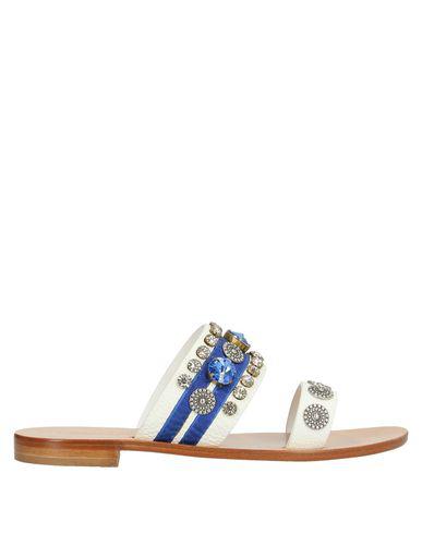 Nanni Sandals In White