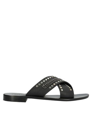 Nanni Sandals In Black