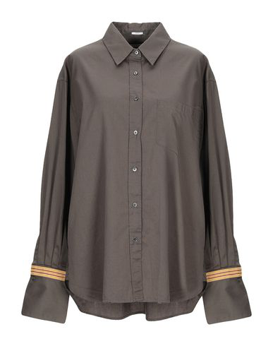 Robert Friedman Solid Color Shirts & Blouses In Green