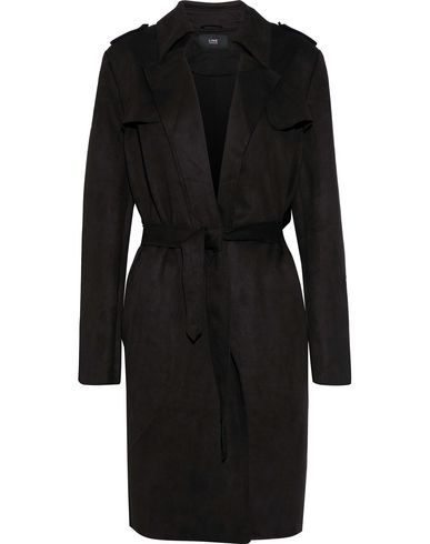 Line Full-length Jacket In Black