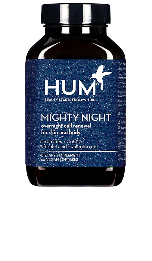 Hum Nutrition Mighty Night Overnight Cell Renewal For Skin & Body In N,a