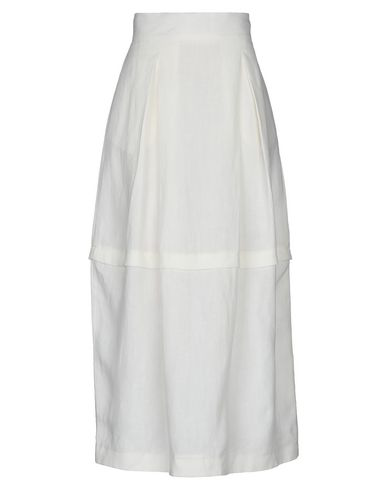 Sartorial Monk Maxi Skirts In Ivory