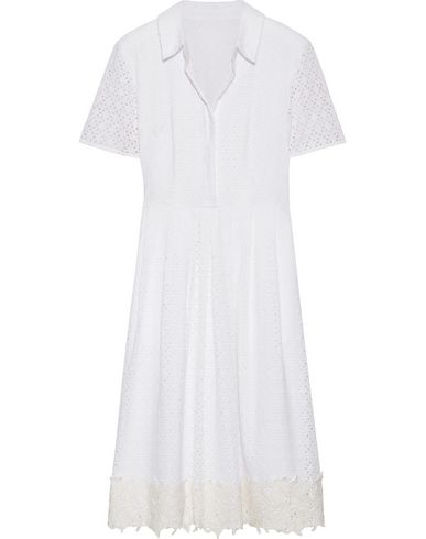 Draper James Knee-length Dress In White