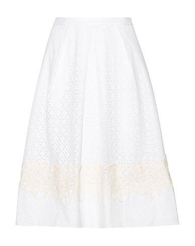 Draper James Midi Skirts In White