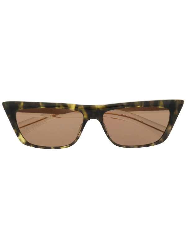 Christian Roth Cr-701 Shield Sunglasses In Green
