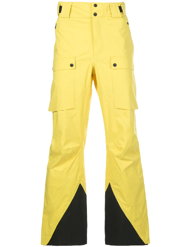Aztech Mountain Hayden Ripstop-shell Ski Trousers In Yellow