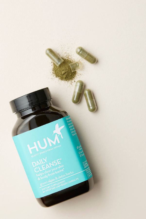 Hum Nutrition Daily Cleanse Supplement In Blue